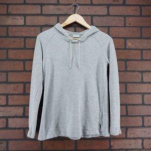 COLUMBIA Gray Hooded Sweatshirt Size Small